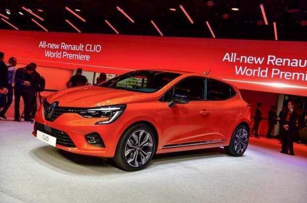 Пятое поколение французского хэтчбека Renault Clio.   Фото: autocar.co.uk.