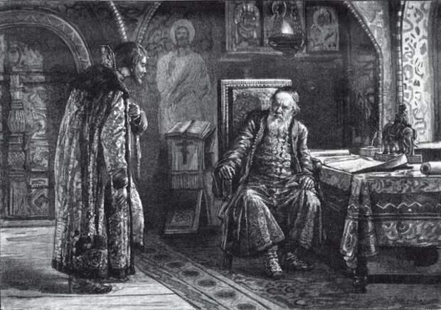 Царь Василий Иванович Шуйский и князь Михаил Васильевич Скопин-Шуйский
