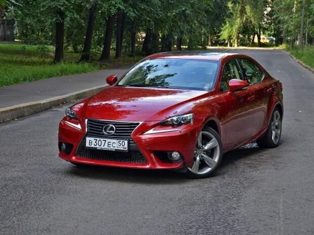 Lexus IS 250: под цвет лака для ногтей