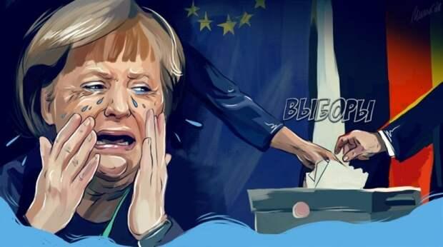Нашествие мигрантов в Европу: русские немцы не простили Меркель