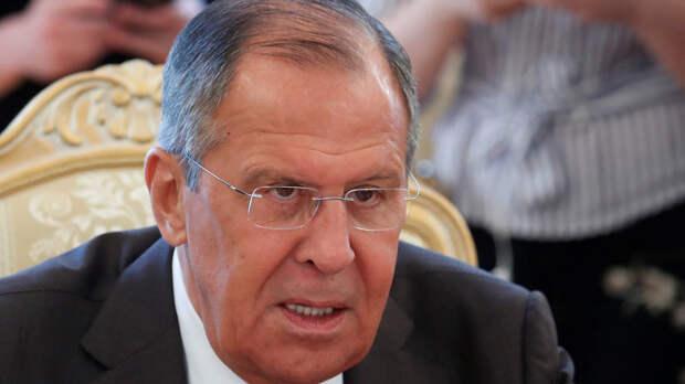 Лавров назвал неприемлемыми действия Украины в отношении российских журналистов