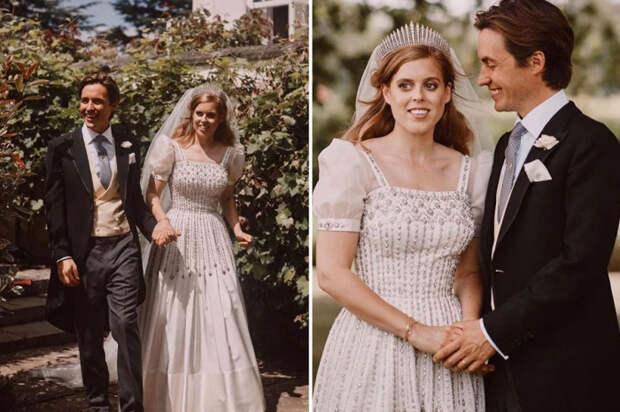 Винтажный свадебный наряд принцессы Беатрис