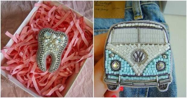 Девушка из Волгограда создает удивительной красоты подарки из бисера