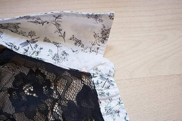 Переделка старой рубашки 5