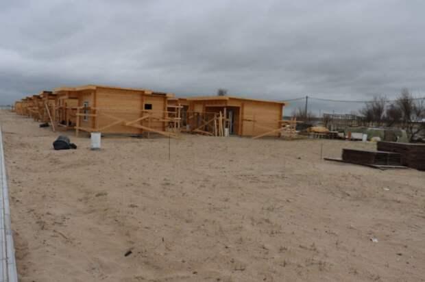 Считают ущерб: В посёлке, где проходила застройка пляжа, работают правоохранительные органы