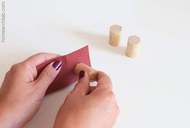 Интересное использование деревянных бусин