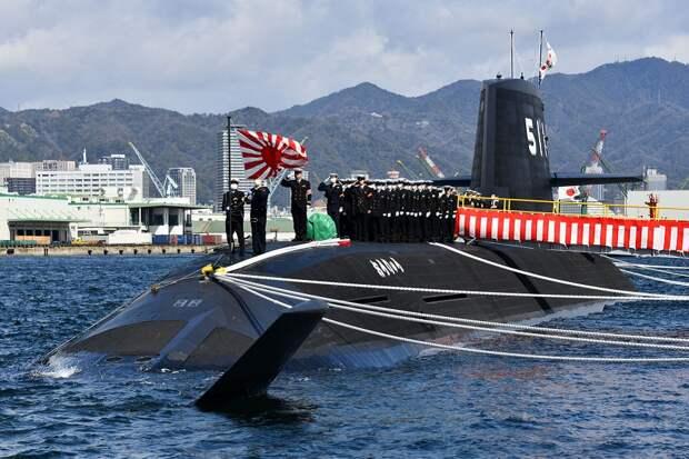 Верфи Японии строят авианосцы и ударные подводные лодки