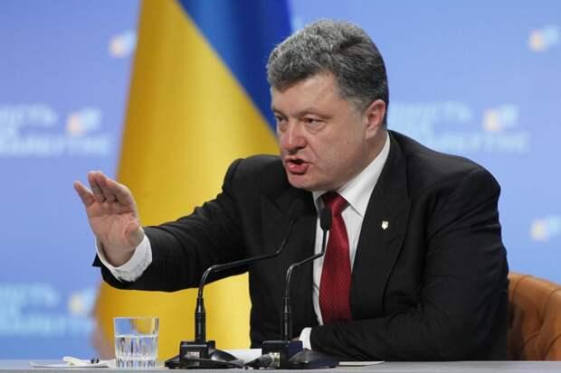 Порошенко потребовал от Зеленского отменить режим прекращения огня