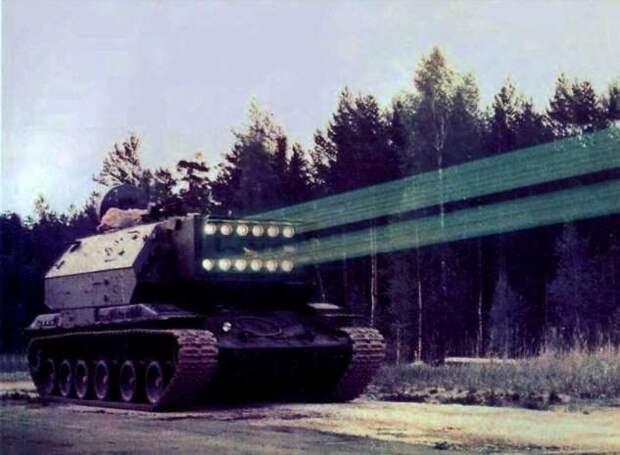Лазерный танк и космический истребитель: 5 секретных советских проектов, о которых и сегодня известны крохи (5 фото)