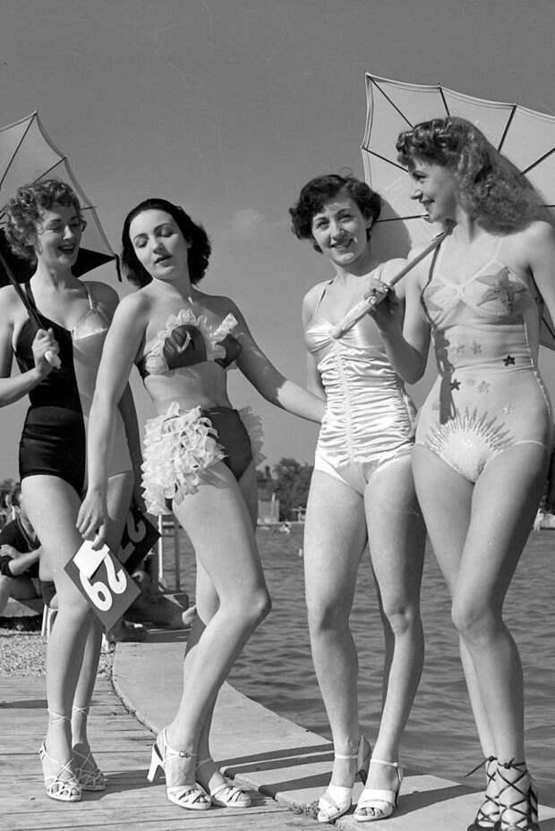 Ах, лето: пляжные зарисовки из прошлого