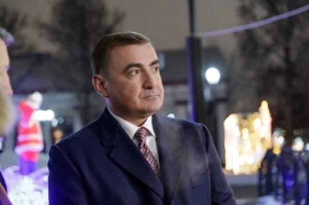 Губернатор Тульской области Алексей Дюмин, 18.01.2021
