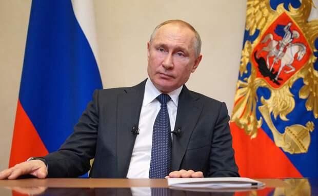 Путин: в России вводится комплекс неотложных мер по защите экономики и населения от коронавируса