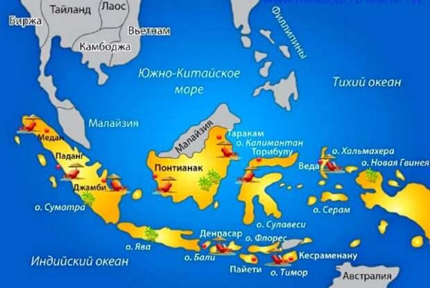 Люди-«рыбы» в Индонезии