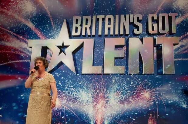 Кадр из шоу Britain's got talent