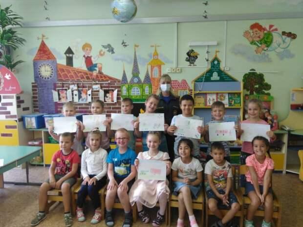 С воспитанниками детских садов провели патриотические беседы на тему ВОВ
