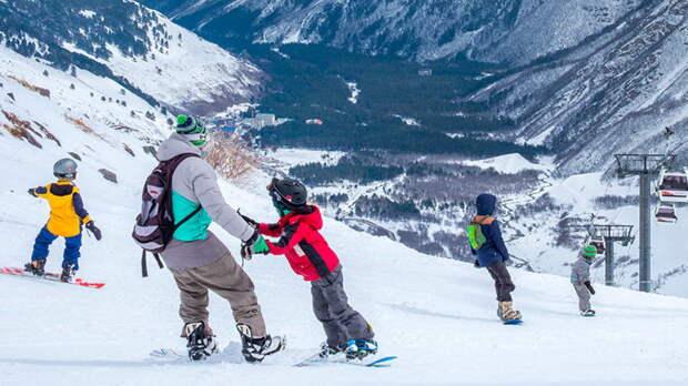Единый ски-пасс вводят на курортах Северного Кавказа