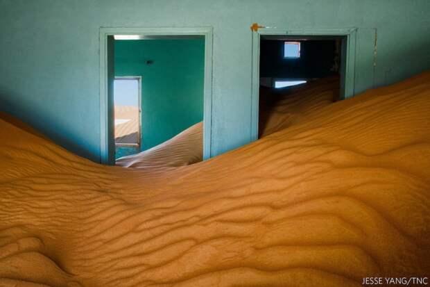 Когда природа берет свое. Заброшка в песках ОАЭ. Фото: Джесси Янг (США), победитель в категории «Города и природа».