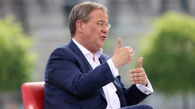 Die Welt: кандидат в канцлеры Германии Лашет пригрозил России санкциями