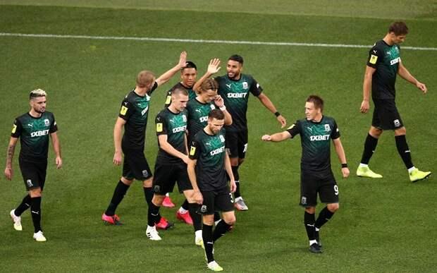 «Краснодар» победил «Ахмат» и сыграет в Лиге Чемпионов