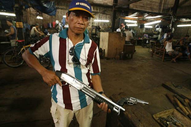 Филиппинские кулибины: мастера-оружейники Данао