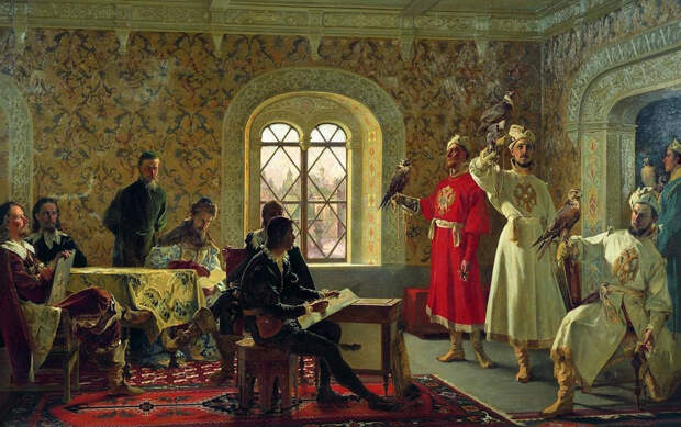 Хобби русских царей