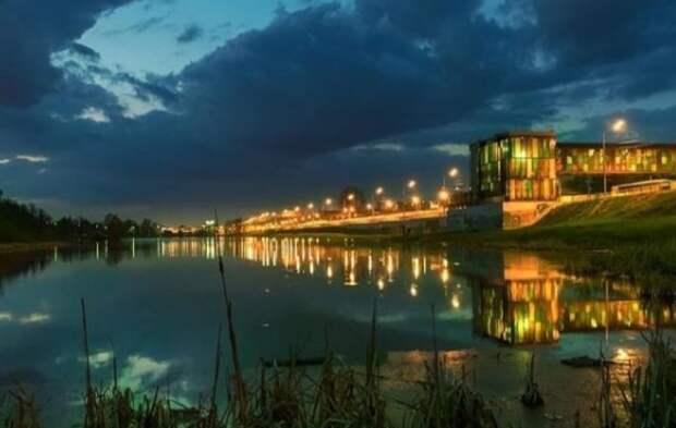 Фото дня: ночной Северный