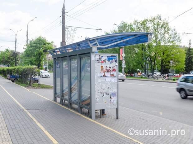 «Умные остановки» стоимостью 1,6 млн рублей установят на улице Пушкинской в Ижевске