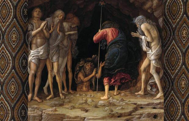 Андреа Мантенья «Сошествие Христа в Чистилище» (1492–1493).