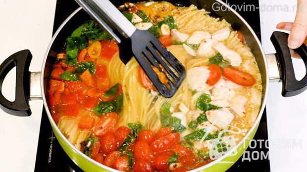 Быстрый Ужин в Одной Сковороде за 11 минут фото к рецепту 3
