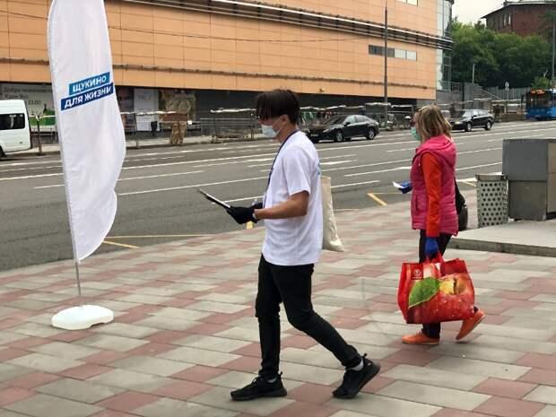 Улицы Щукино становятся безопаснее