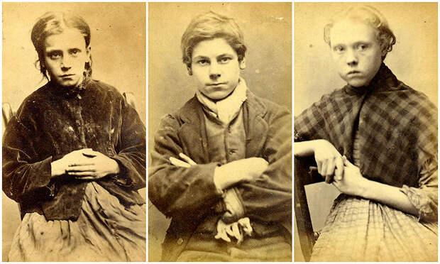 Лица британской преступности XIXвека