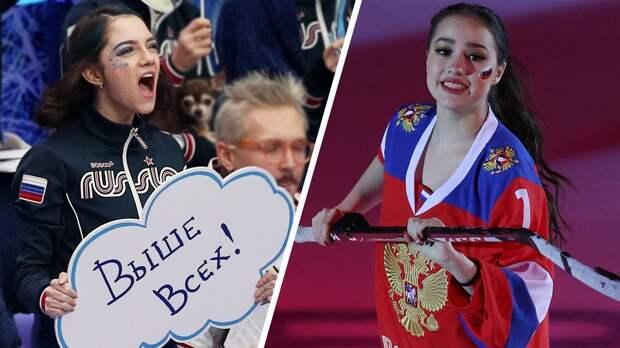 Медведева с недовольством поздравила Загитову с победой ее команды на Кубке Первого канала