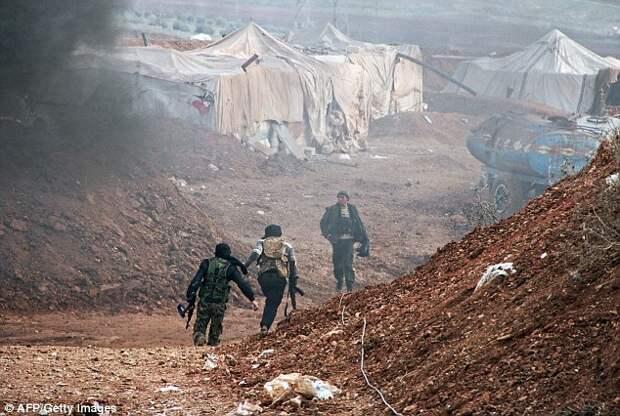 В Сирии служебная овчарка защитила британских солдат от джихадистов