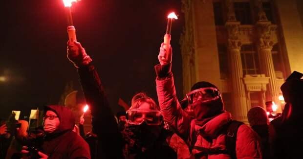 Погром на Банковой как прелюдия к распаду Украины