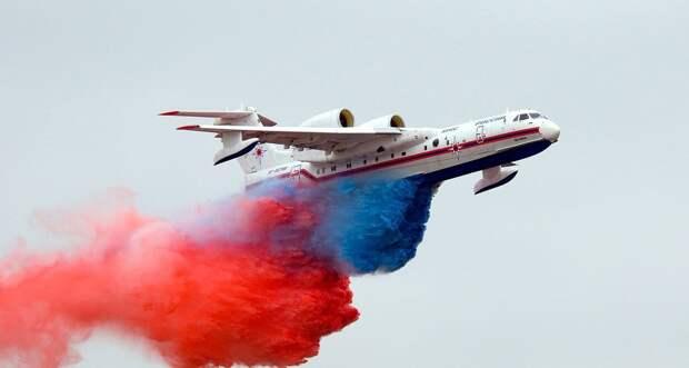 В Турции разбился пожарный самолет Минобороны РФ