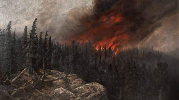 Под Екатеринбургом вспыхнул еще один пожар