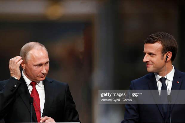 Macron-Putin-Talk