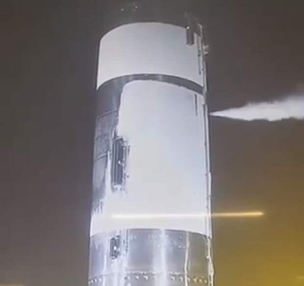 Прототип Starship SN4 прошел криогенные испытания под давлением