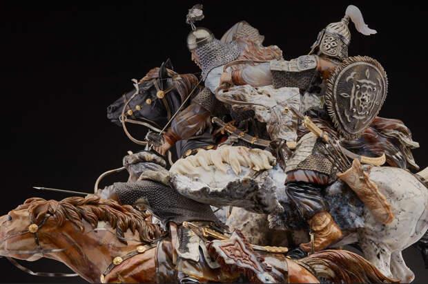 Неповторимая жизнь камня в удивительных скульптурах уральских мастеров