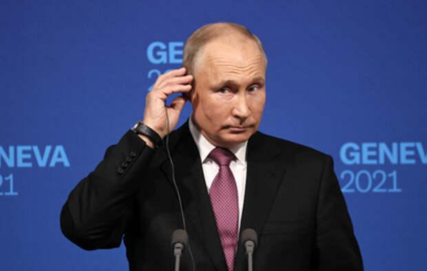 Пресс-конференция Путина после встречи с Байденом. Главное