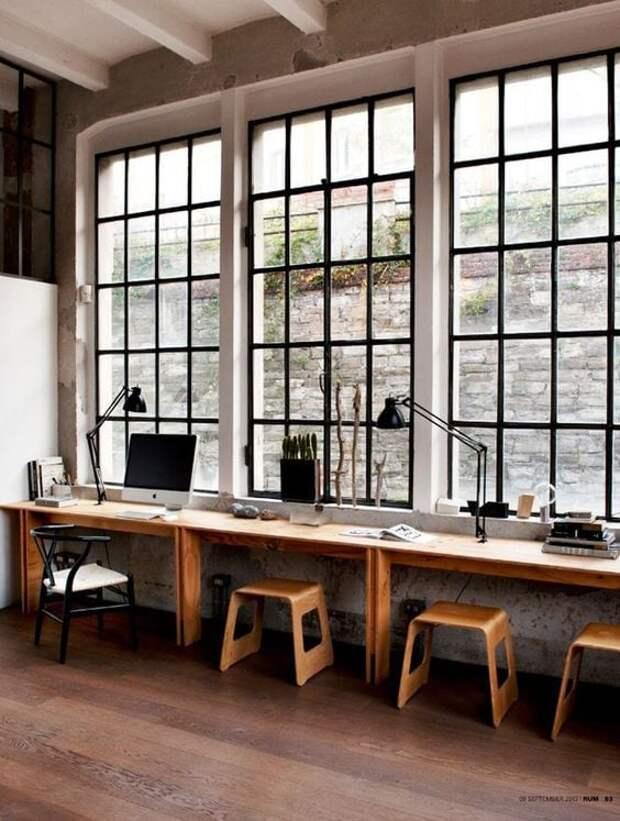 15 удобных и практичных подоконников для экономии места