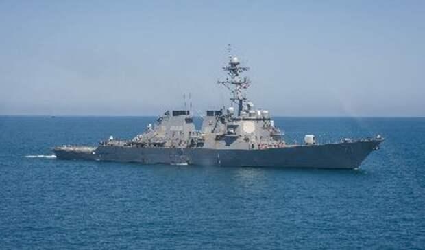 Американский эсминец вошёл в Чёрное море