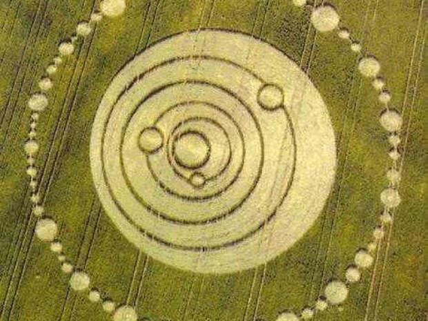 Самые известные вистории загадочные круги наполях