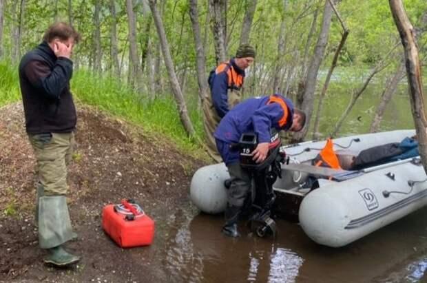 На Камчатке спасли туриста, пропавшего во время сплава по реке