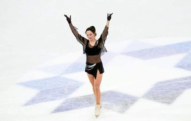 Туктамышева назвала лучший момент в короткой программе на чемпионате мира в Стокгольме