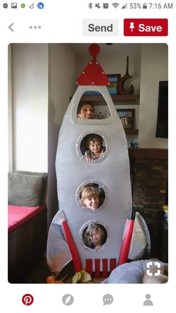 детский праздник в стиле космос