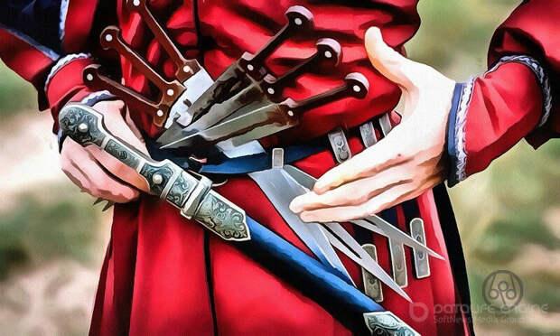 Кость как древнейшее сырье клинкового оружия