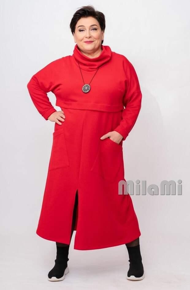 """Фото 4  - красное платье """"MilaMi""""."""