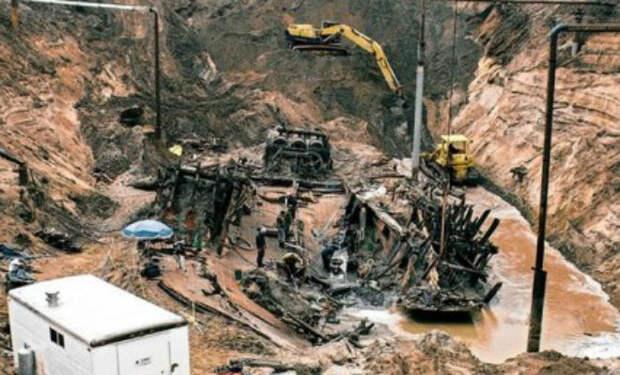 Пароход лежал под полем на глубине 15 метров: археологи раскопали землю и подняли золото