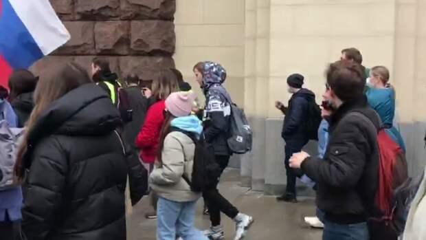 Первое уголовное дело после митингов 21 апреля возбуждено в Красноярске